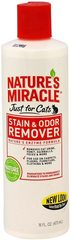 8 in 1 Nature's Miracle уничтожитель пятен и запахов для кошек