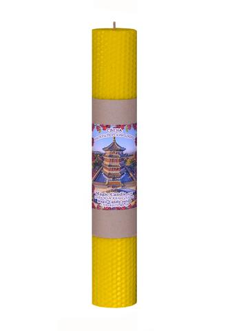 Свеча Императорский дворец желтая