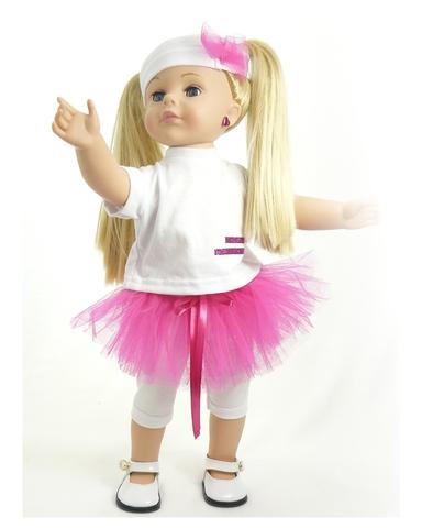 Костюм с юбкой - на кукле. Одежда для кукол, пупсов и мягких игрушек.
