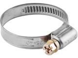 Хомуты, нерж. сталь, накатная лента 12 мм, 50-70 мм