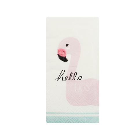 Платочки бумажные Hello
