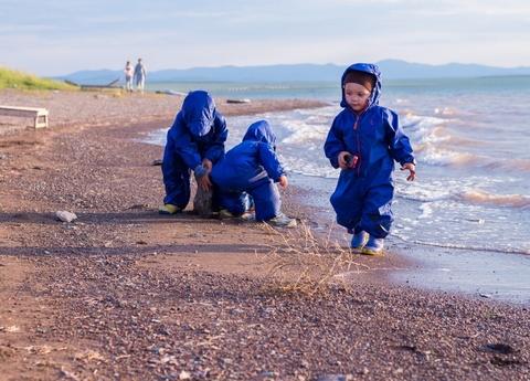 Комбинезон-дождевик Хиппичик непромокаемый синий