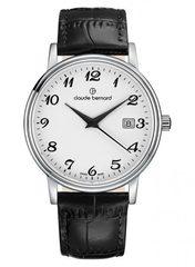 мужские наручные часы Claude Bernard 53007 3 BB