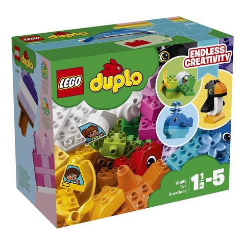 LEGO Duplo: Весёлые кубики 10865 — Fun Creations — Лего Дупло