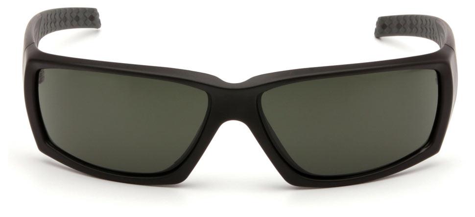 Очки баллистические стрелковые Pyramex Overwatch VGSB722T Anti-fog темно-зеленые 10%