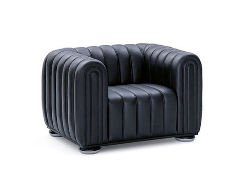 replica Living Room armchair ( leather )