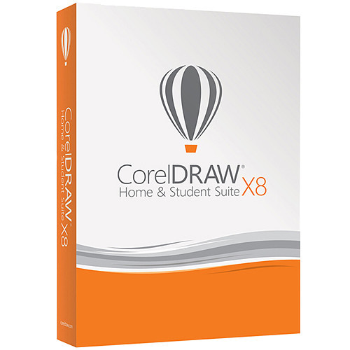 ESDCDHSX8ROEU CorelDRAW Home&Student Suite X8