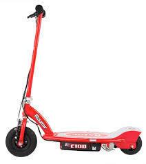 Электросамокат, Razor E100,  красный, до 60 кг
