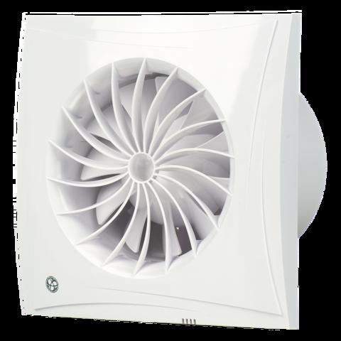Вентилятор накладной Blauberg Sileo 100 H (таймер, датчик влажности)