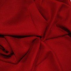 Кашемировый однотонный красный палантин (1) фото 2