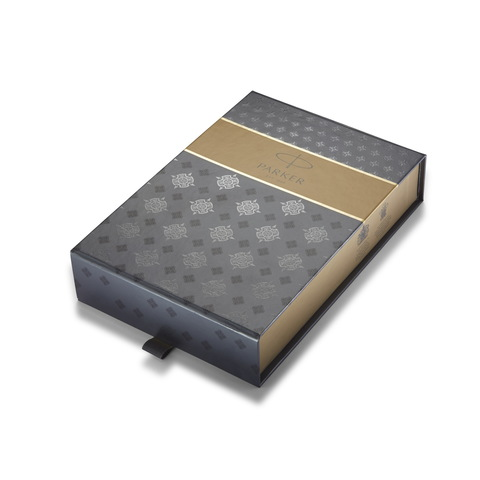 Набор с гравировкой: Чехол и Шариковая ручка Parker IM Core, K321, Black GT123