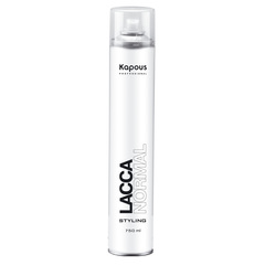 KAPOUS лак аэрозольный для волос нормальной фиксации 750мл.