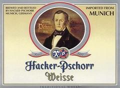 Пиво Hacker-Pschorr Hefe Weisse