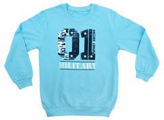 15B01001п-4 Джемпер детский, голубой