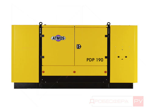 Компрессор ATMOS PDP 190 SKID (-40°С Webasto) 12 бар