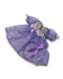 Платье из парчи и гипюра - Фиолетовый. Одежда для кукол, пупсов и мягких игрушек.