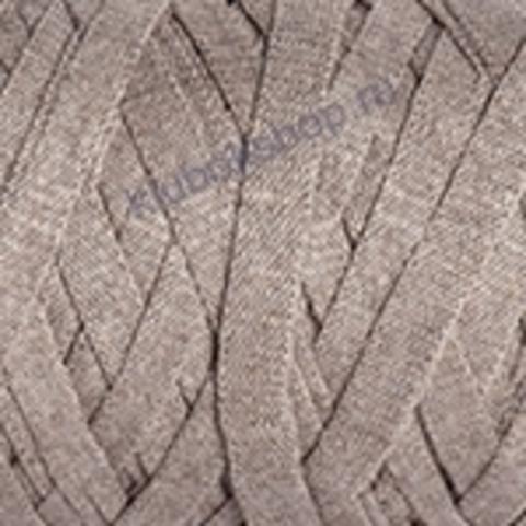 Ленточная пряжа YarnArt Ribbon цвет 768 темно-бежевый