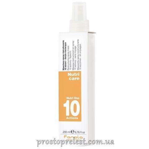 Fanola Nutri Care Restructuring Spray - Спрей 10 функций для сухих волос