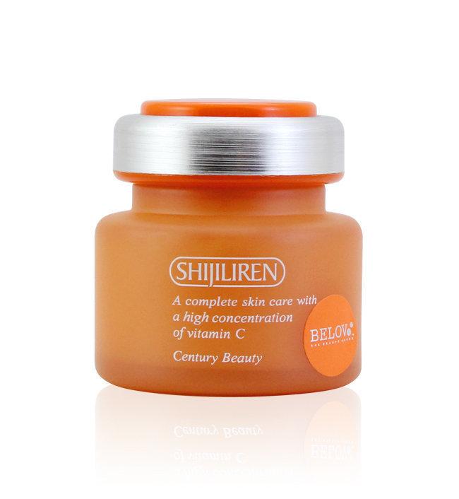 Shijiliren Vitamin C Whitening Active Skin cream Защитный крем с витамином С, 50 мл