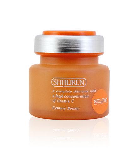 Shijiliren Защитный крем с витамином С Vitamin C Whitening Active Skin Cream, 50 мл