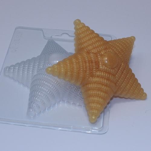 Звезда с погон, форма пластиковая