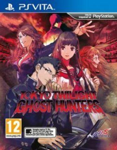 Sony PS Vita Tokyo Twilight Ghost Hunters (английская версия)