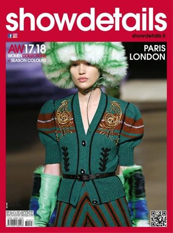 Журнал мод. SHOWDETAILS (Париж, Лондон) осень-зима 2017-2018г.