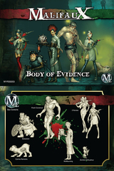 Body of Evidence. McMourning Box Set