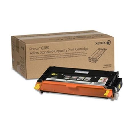 XEROX Phaser 6280 yellow тонер картридж стандарт 106R01390