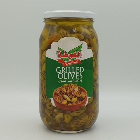 Оливки зеленые на гриле ALGOTA, 950 гр