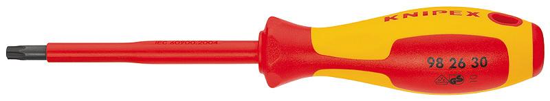 Отвертка диэлектрическая TX 30 VDE 1000V Knipex KN-982630