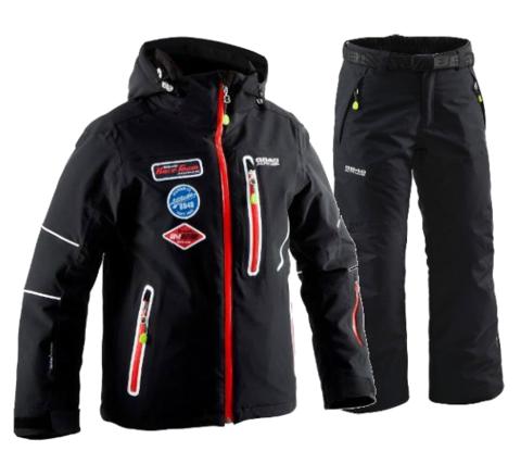 8848 ALTITUDE детский горнолыжный костюм черный