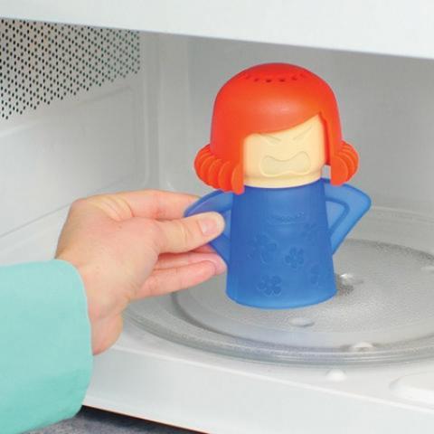 Очиститель микроволновой печи Грозная Мама — очистит вашу любимую м...