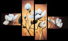 """Модульная картина """"Изысканный цветок"""""""