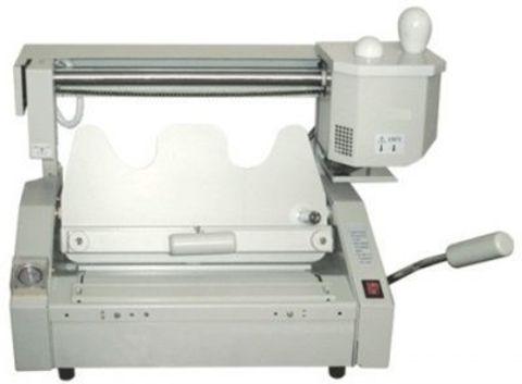 Термоклеевая машина Bulros GB-6310 - длина переплета от 50 до 300 мм, производительность до 120 книг в час, толщина обложки до 400 гр.