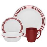 Набор посуды Ruby Red 16 пр, артикул 1114016, производитель - Corelle
