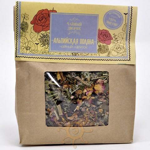 Чай травяной Альпийская поляна Чайный дворик, 150г
