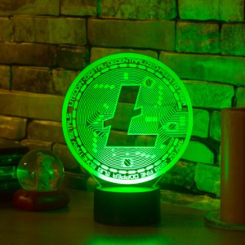 Ночник LiteCoin (Лайткоин)