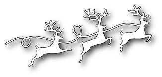 Ножи для вырубки Reindeer Parade craft die