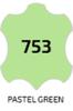 753 Краситель SNEAKERS PAINT, стекло, 25мл. (пастельно-зеленый)