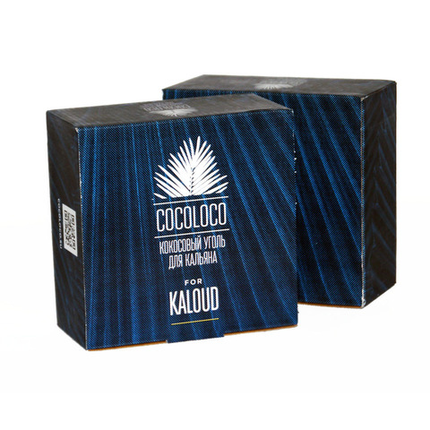 Уголь CocoLoco 1 кг kaloud