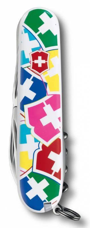 "Складной нож Victorinox Spartan ""VX Colors"