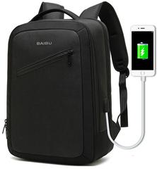 Рюкзак BAIBU 1991 USB Черный