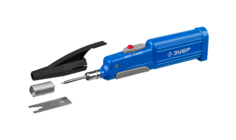 Wireless soldering iron ZUBR
