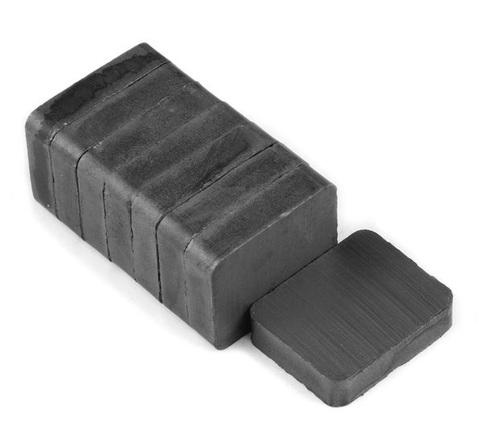 Магнит 22х20х8.7 мм, феррит, блок