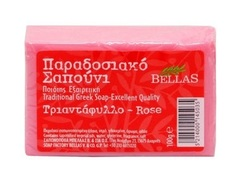 Натуральное оливковое мыло с розой Bellas 100 гр