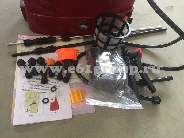 Опрыскиватель электрический ранцевый Комфорт (Умница) ОЭМР-16-2Н (2 насоса) отзывы