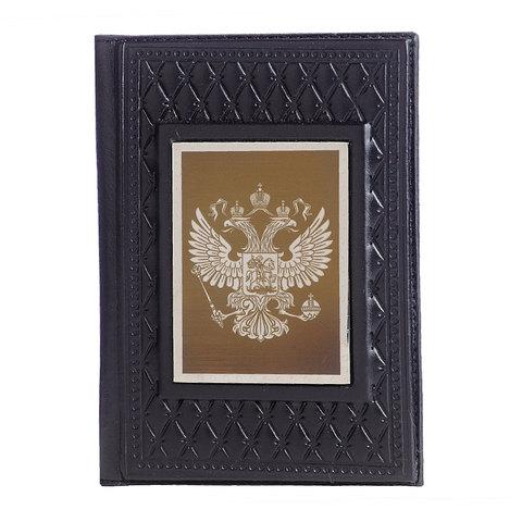 Обложка для паспорта «Патриот» черная