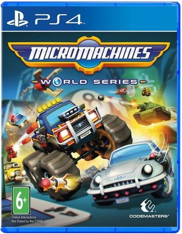 Sony PS4 Micro Machines World Series (английская версия)
