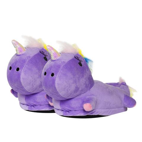 Тапки Rainbow Unicorn Purple р-р 33-37